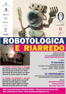 Laboratorio di riciclo - Robotologica Riarredo