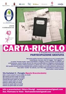RICICLO CARTA LABORATORIO AMBIENTE