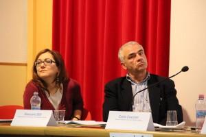 Alessandra Stocchi, Coordinatrice progetto Zero Waste - Giancarlo Billi, Pres. Cesvol PG
