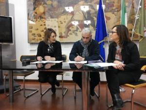 Da sinistra Carla Casciari Giancarlo Billi Alessandra Stocchi