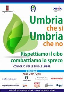 Concorso Scuole Sprechi Alimentari Umbria