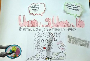 """Secondaria II grado Liceo Classico Todi classe III B """"RISPETTIAMO IL CIBO COMBATTIAMO LO SPRECO"""""""
